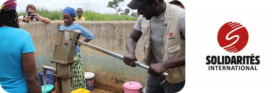 Solidarités International : une eau potable pour tous